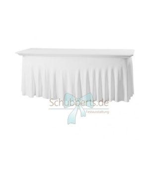 Tischhusse für Bankett-Tisch eckig